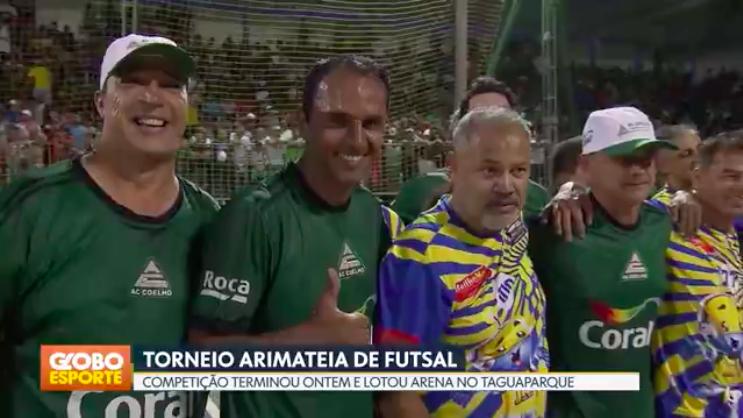 AC Coelho é destaque no Campeonato Arimateia.