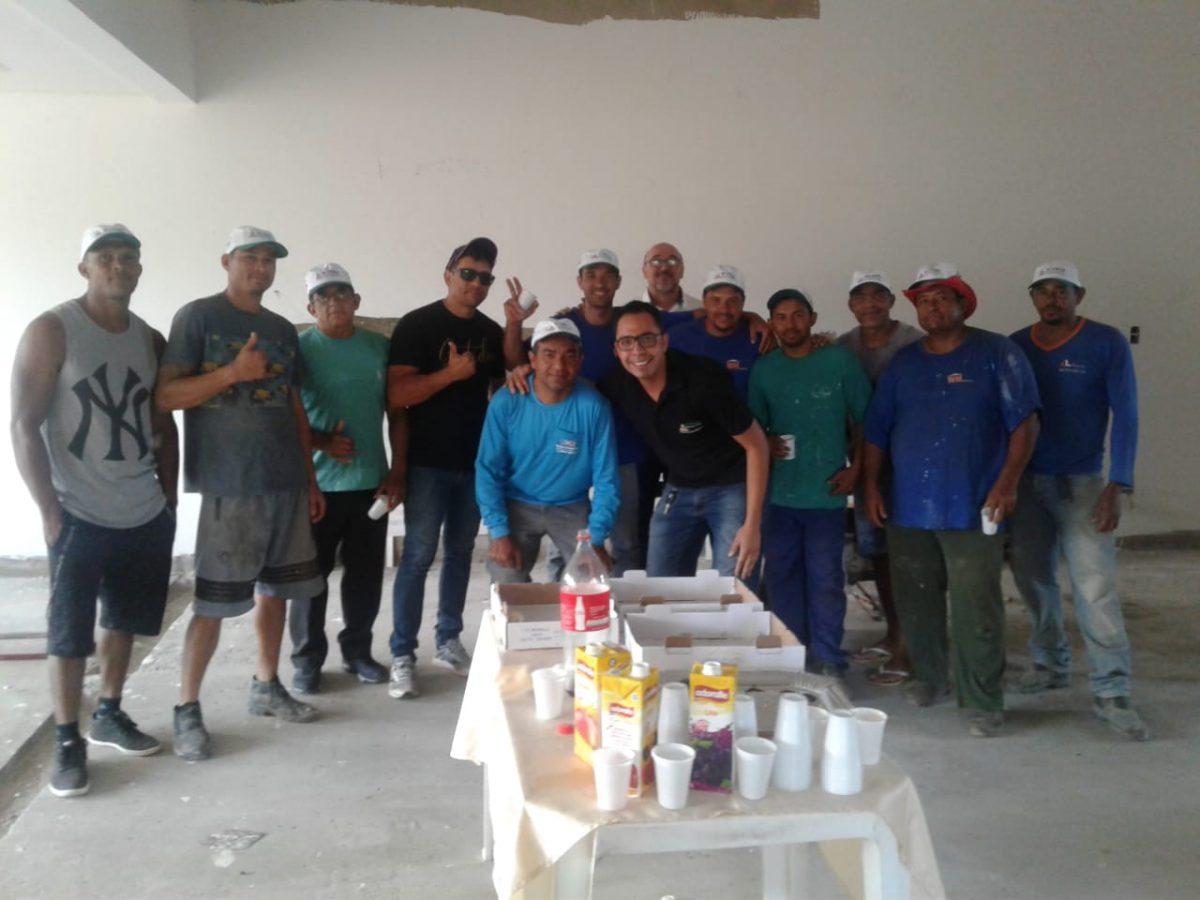 Café da manhã com nossos parceiros da WM Construções