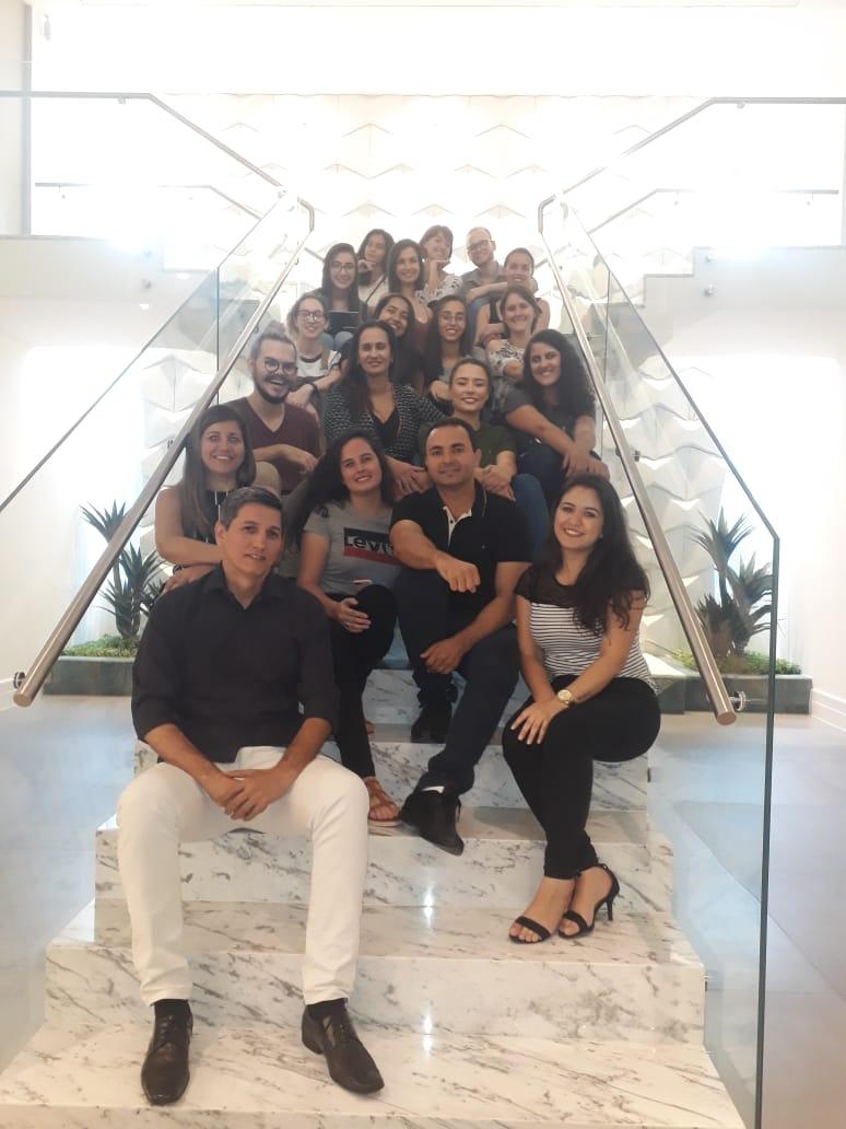 Visita dos alunos de Arquitetura e Urbanismo da Universidade Católica