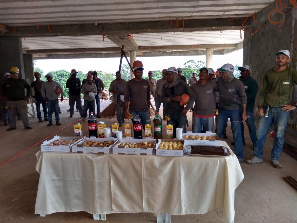 Coffee Break com os parceiros da Construtora Fogaça